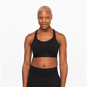 LULULEMON NWT Fine Form bra black size 32DD